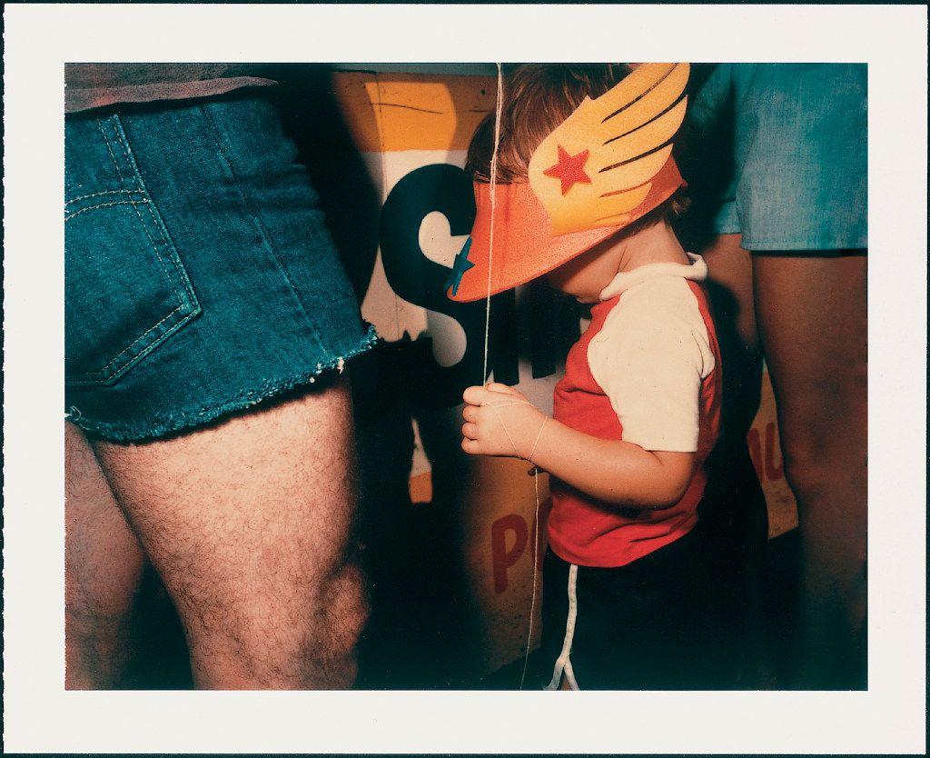 Barbara Crane (born 1928)  Private Views, 1981;   Polaroid Polacolor 4x5 film Type 58