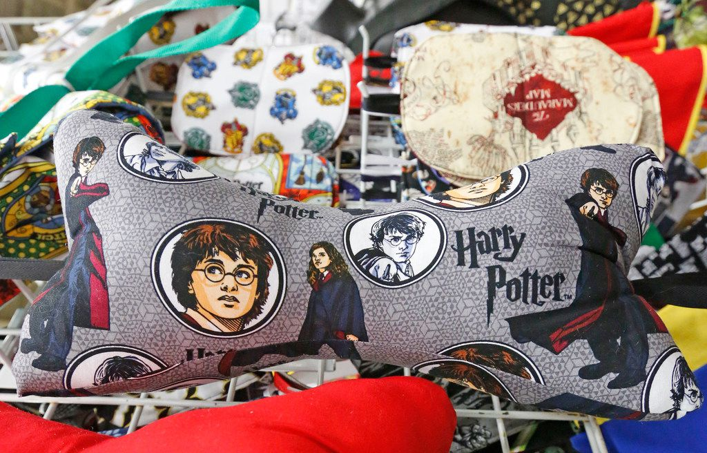 A variety of Harry Potter items were for sale at LeakyCon.
