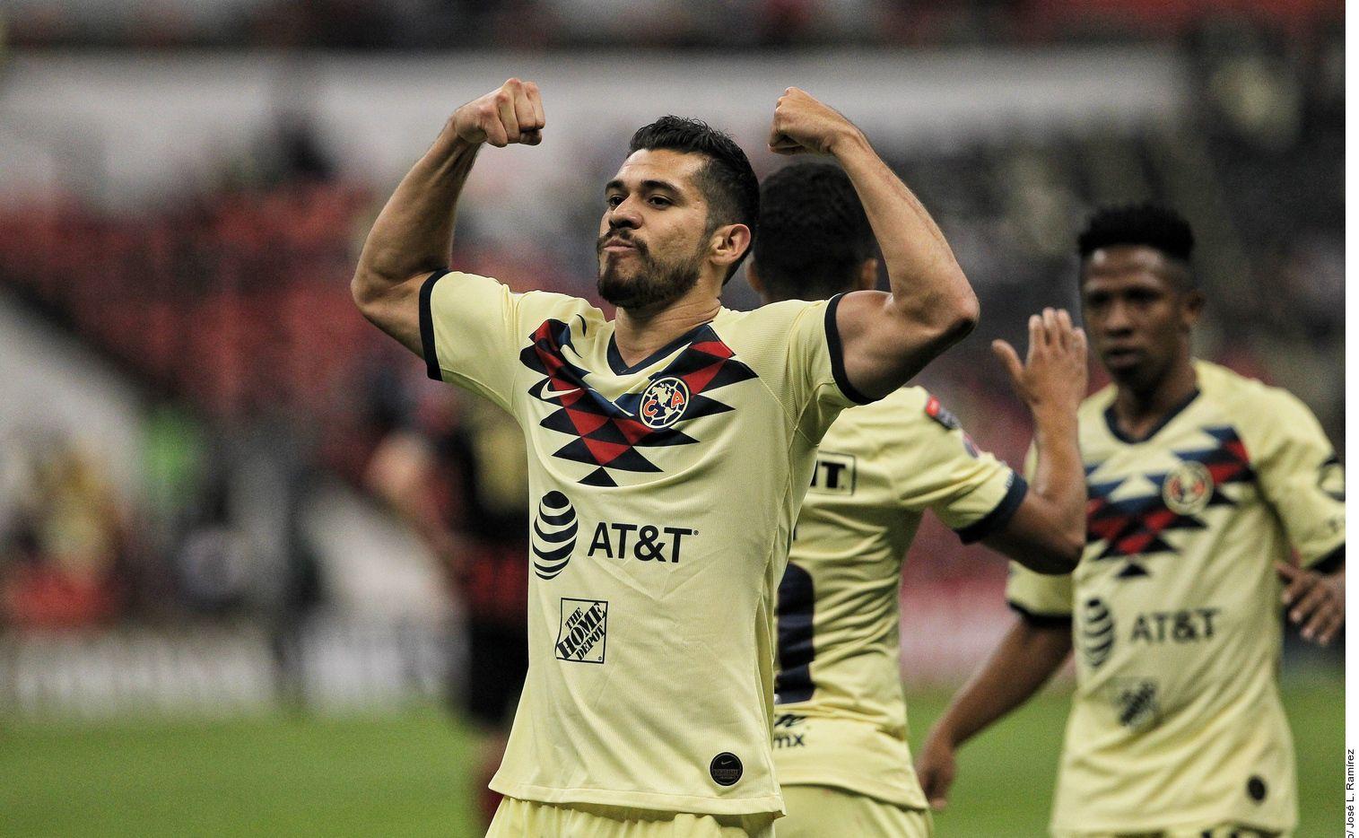 Henry Martin y el América son primeros del Apertura MX con seis triunfos en 11 jornadas.