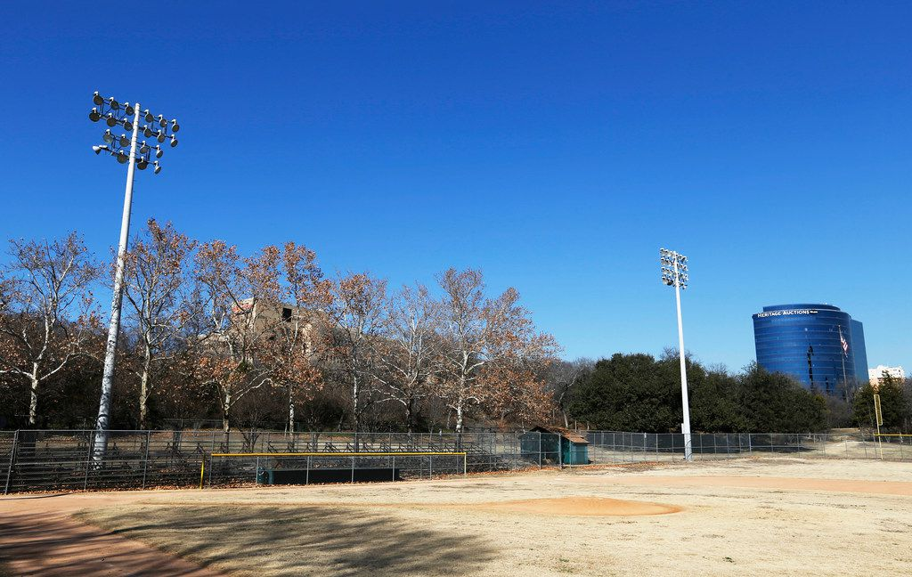The city's hoping someone's willing to scrape and start over at the century-old Reverchon Park ball field.