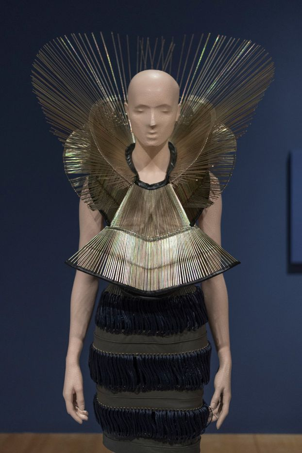 A dress from fashion designer Iris van Herpen's Chemical Crows collection