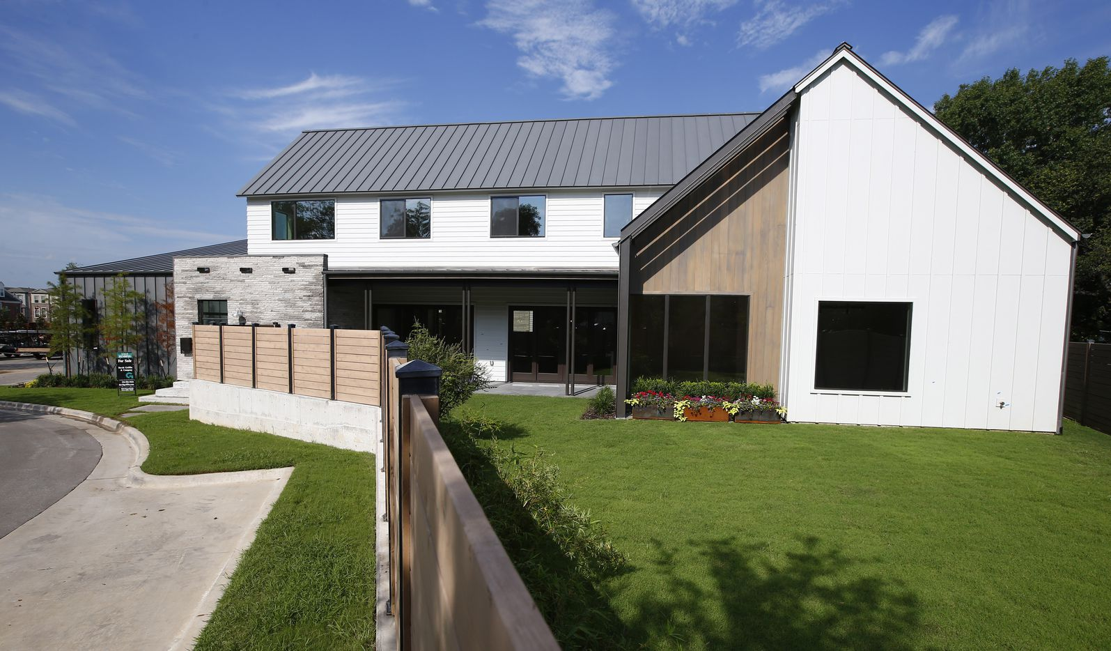 One of the homes Centre Living Homes has built on the western edge of Highland Park.