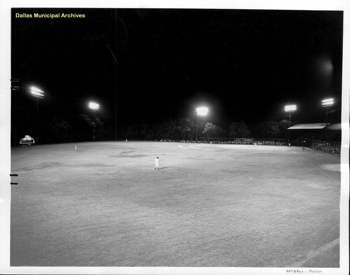 A game at Reverchon circa 1940