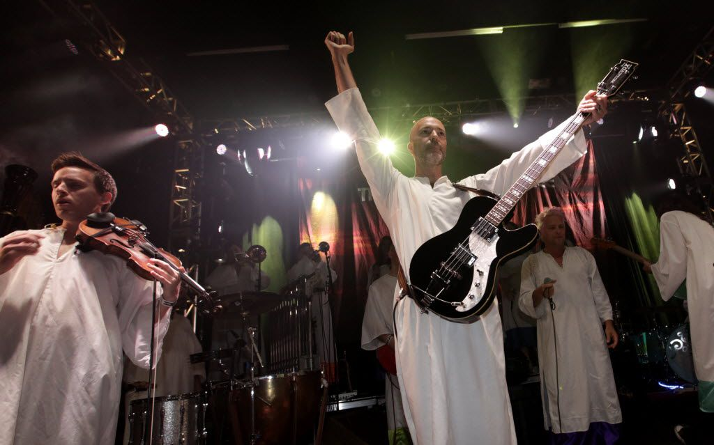 The Polyphonic Spree performs at Granada Theater in Dallas, on Oct. 17, 2015. (Jason Janik/Special Contributor)