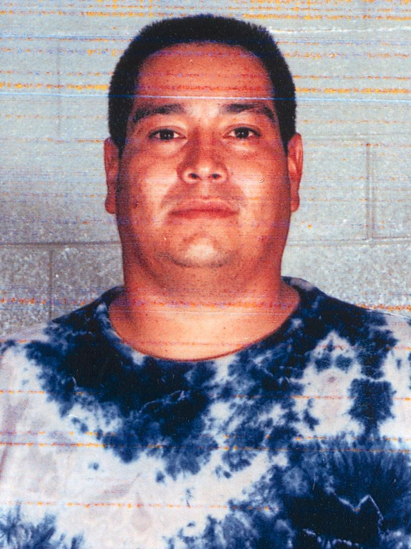 Charles Don Flores in a mugshot used in a photo lineup shown to eyewitness Jill Barganier