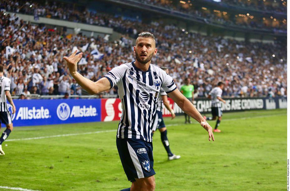 Nicolás Sánchez anotó el único gol del partido para el triunfo de Rayados sobre Xolos en la ida de la final de la Copa MX 2020.