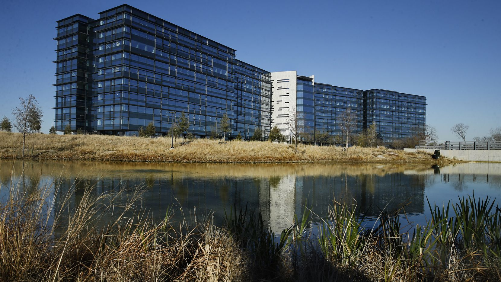 Pioneer Natural Resources' headquarters in the Las Colinas development of Irving.