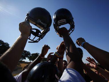 Texas high school football is back.