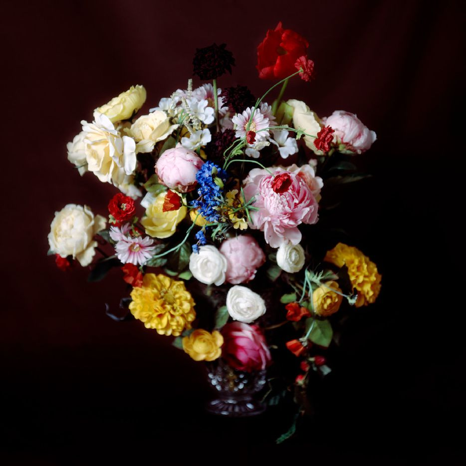 Leigh Merrill, Brown Bouquet, 40 x 40 inches, pigment print, 2009, courtesy of the Liliana Bloch Gallery.