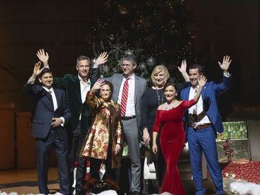 """The Dallas Symphony Orchestra's """"A Holly Jolly Celebration: A C-Suite Christmas"""" takes place each December. This year it will also be televised nationwide."""