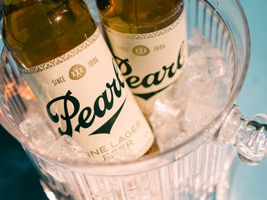 Pearl xXx beer not only has a new vintage-look bottle, but a new formula too.