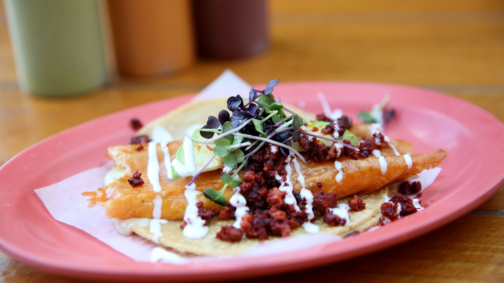 The spirit of Tacos Mariachi is returning to Dallas when owner Jesus Carmona's new taco shop Milagro opens in Trinity Groves.