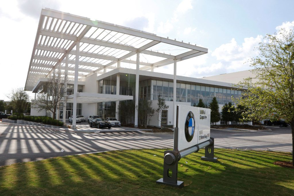 Sewell BMW of Grapevine checks in at 300,000 square feet. (David Woo/The Dallas Morning News)