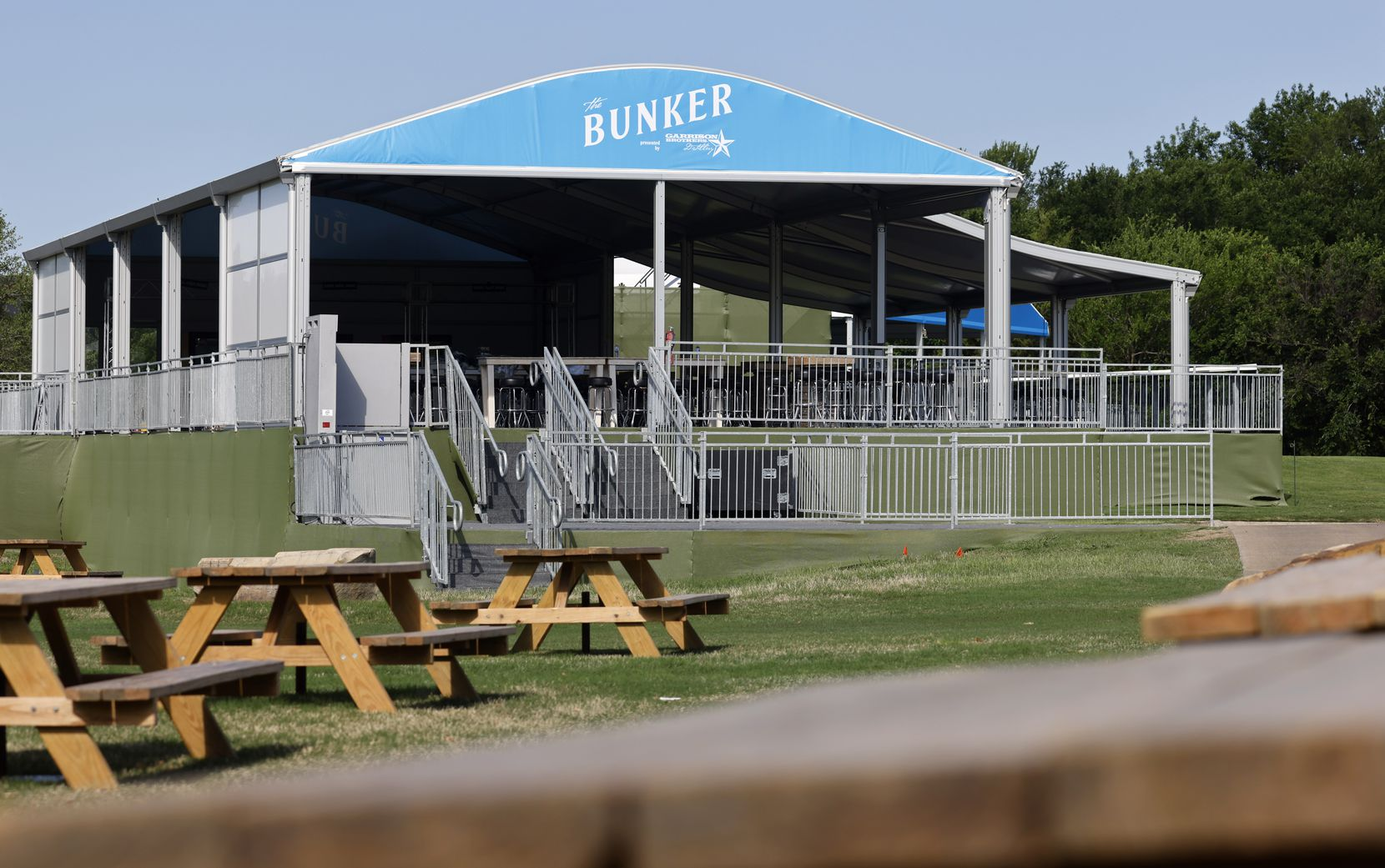 The Bunker at TPC Craig Ranch on Wednesday, May 6, 2021in McKinney, Texas. (Vernon Bryant/The Dallas Morning News)