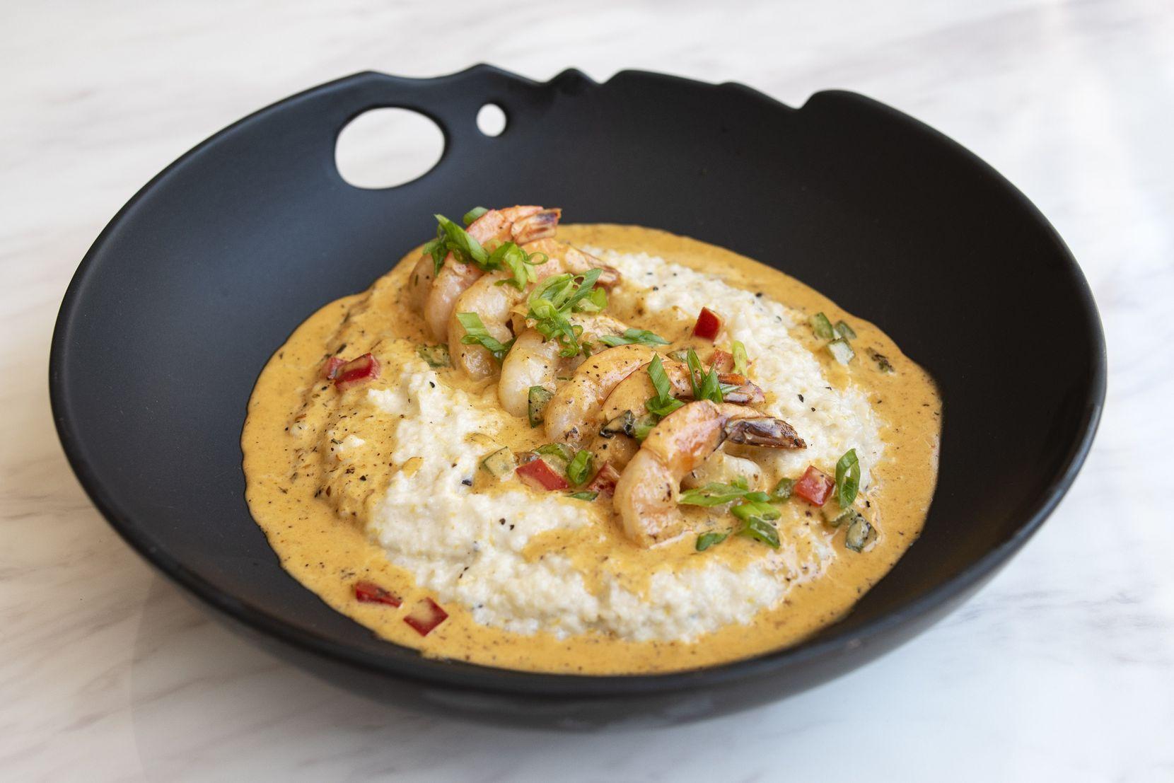 Shrimp and grits from True Kitchen + Kocktails