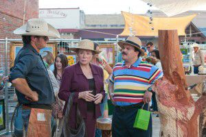 """Shirley MacLaine and Jack Black starred in 2011's """"Bernie."""" (Millennium Entertainment)"""