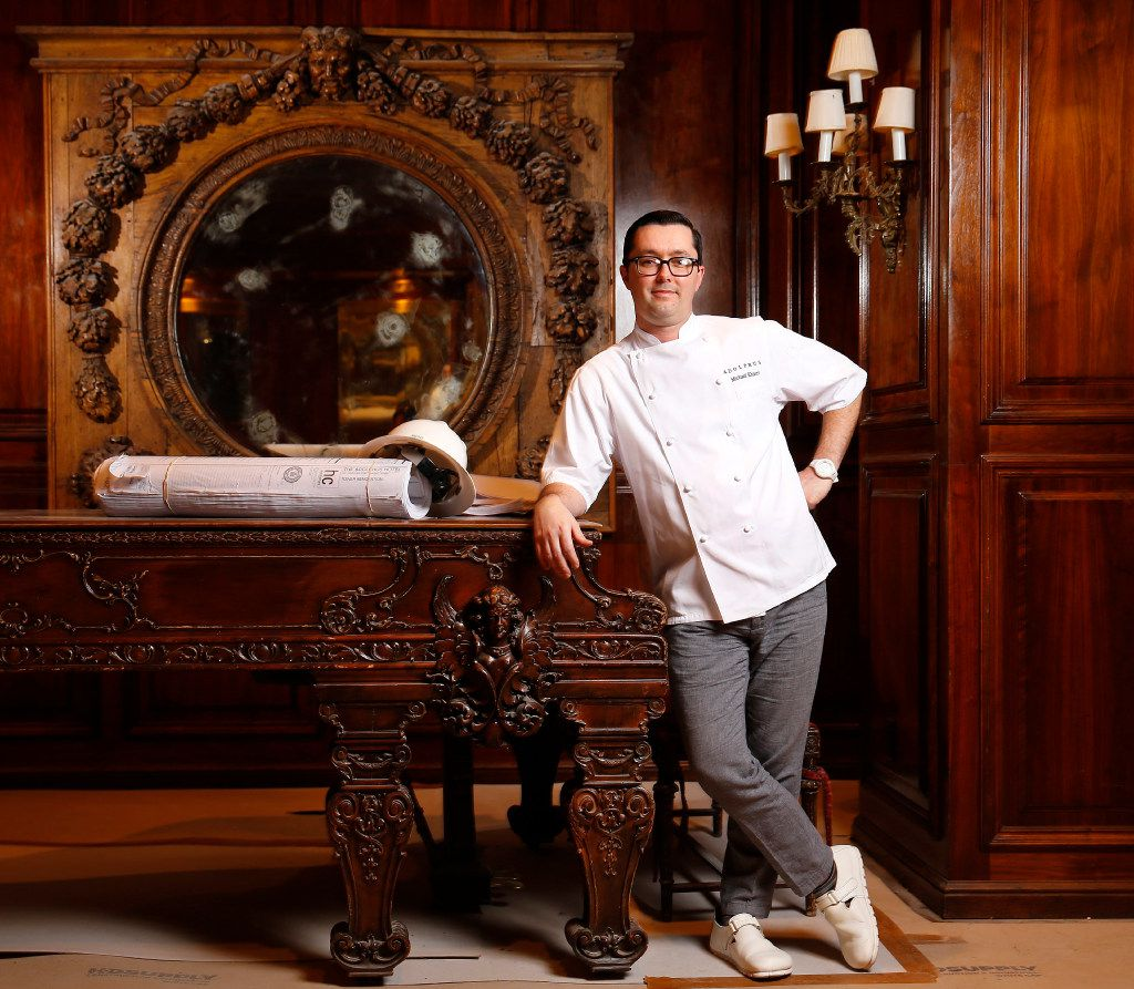 Michael Ehlert has been named executive chef at the French Room in the Adolphus Hotel.