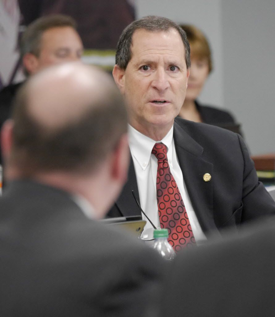 Lee Kleinman, a former Dallas Police and Fire Pension System trustee and current City Council member, says he doesn't know much of a responsibility the city has to fix problems caused by bad investments and overly generous benefits. (2014 File Photo)