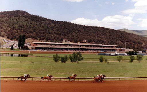 Ruidoso Downs offers live quarter horse and thoroughbred racing in a resort-town setting in southeastern New Mexico.  It was the site of failed drug tests on four racehorses in 2013 -- linked to a Weatherford pharmacy owned by Joe Landers, who has pleaded guilty to federal drug charges.