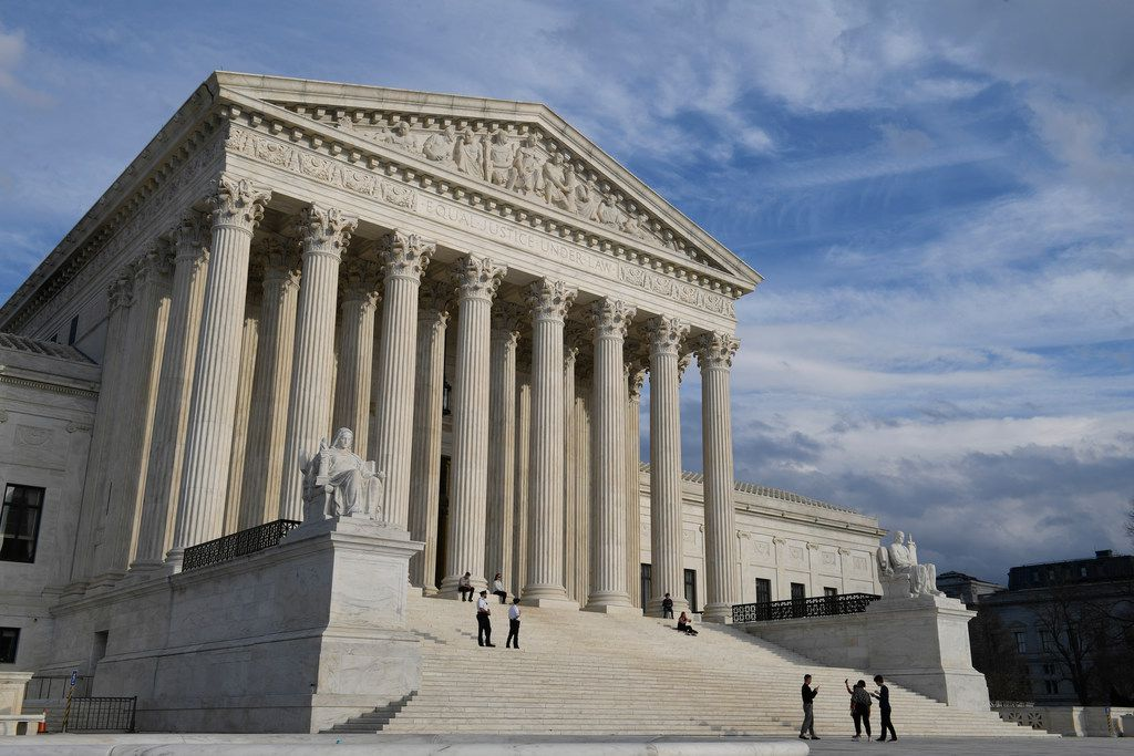 A view of the Supreme Court in Washington