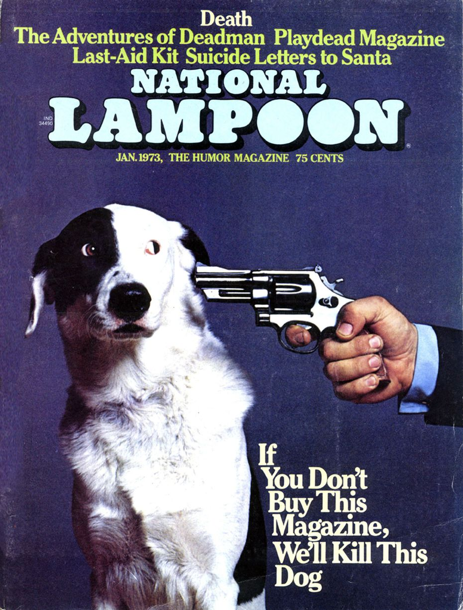 A cover of National Lampoon from its heyday in 1973. (Courtesy of National Lampoon/The New York Times)