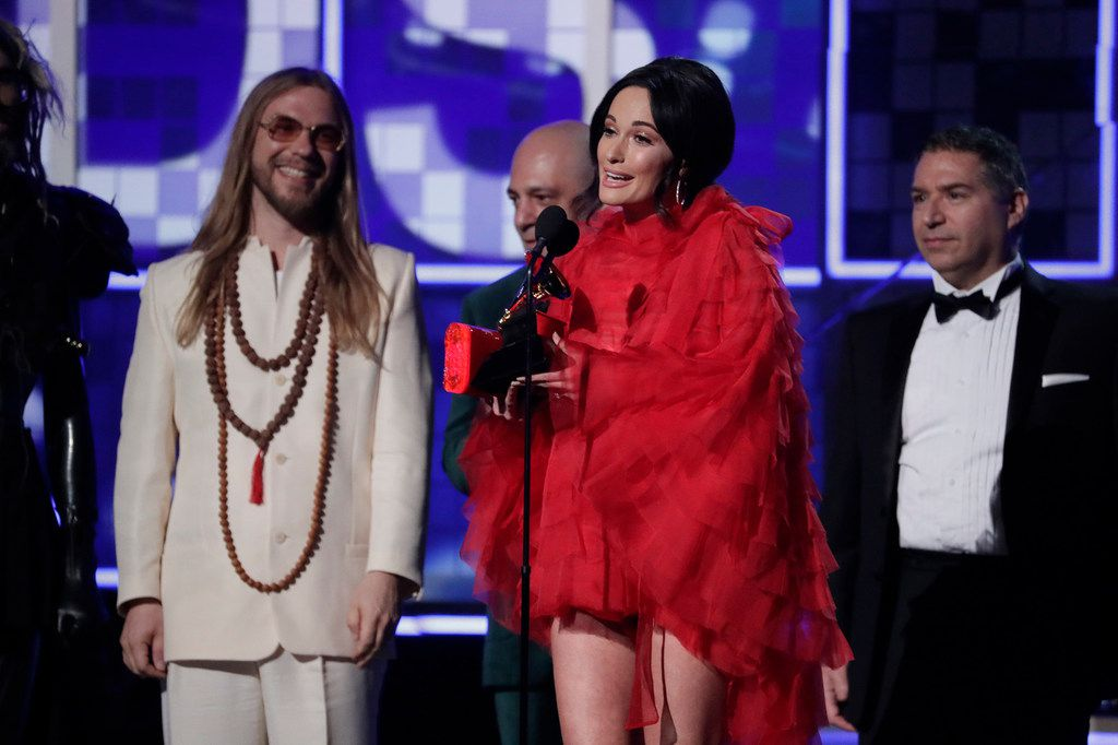 Kacey Musgraves wins Album of the Year during the 61st Grammy Awards at Staples Center in Los Angeles on Sunday, Feb. 10, 2019.
