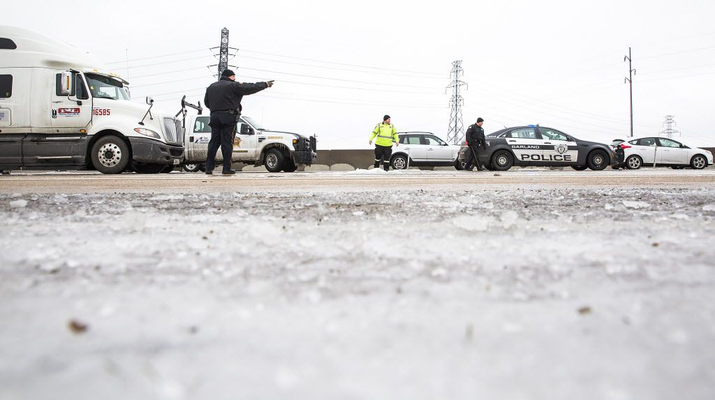 A Dallas County jury awarded $35 million to the family of a woman killed in an icy road crash with an 18-wheeler.