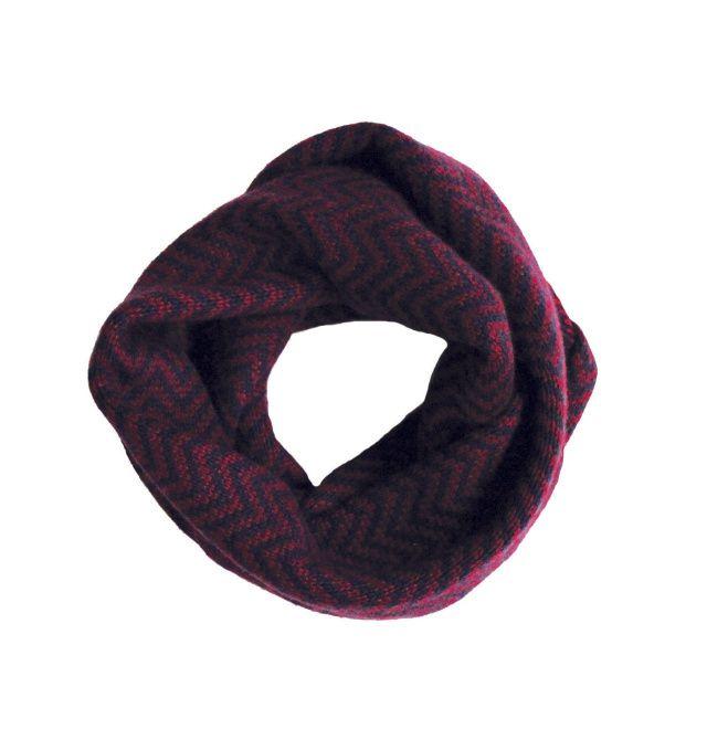 Chevron infinity scarf by J. Crew. $68 at jcrew.com.