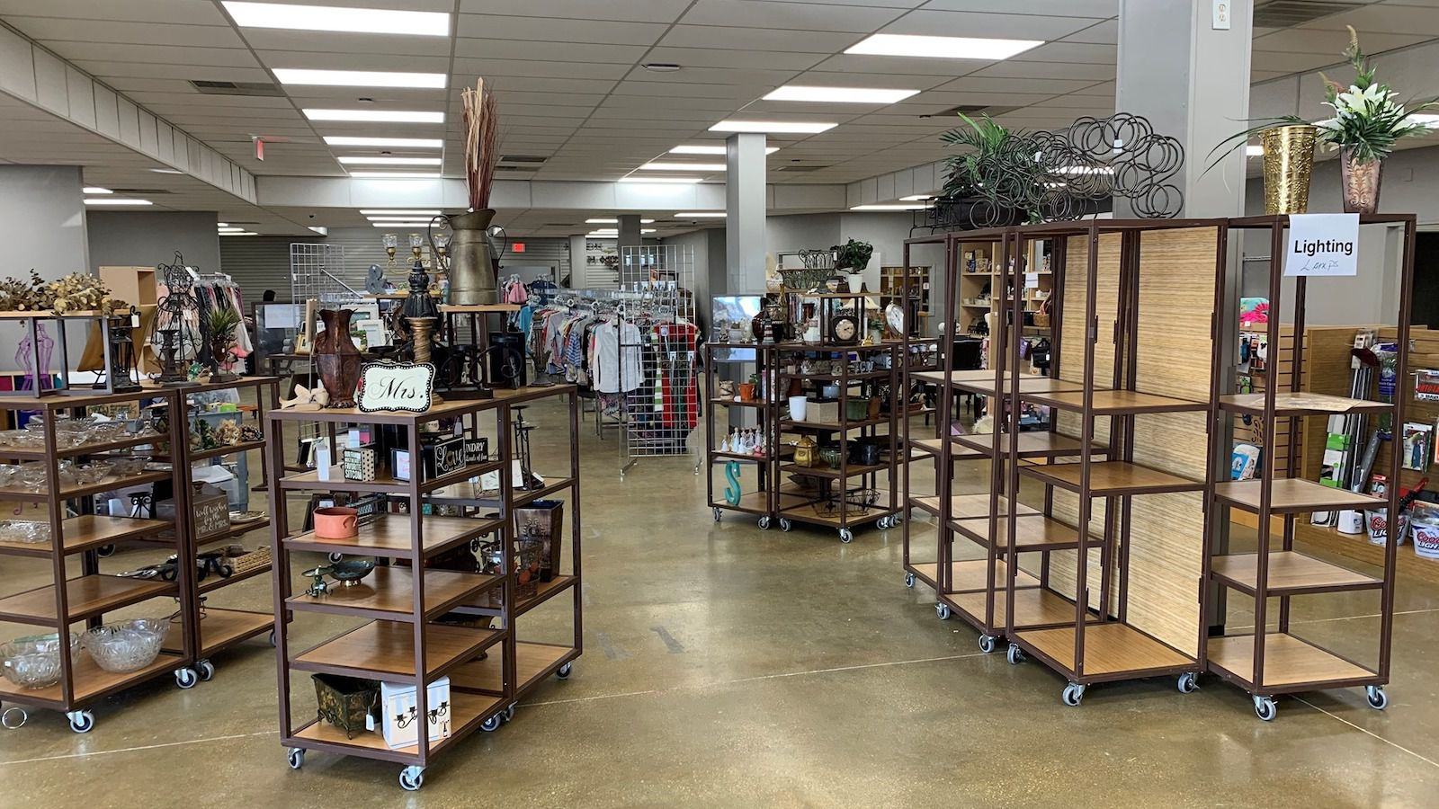The All Community Outreach resale shop in Allen is nearly ready to reopen with a fresh new look.