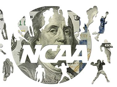 An illustration of the NCAA logo.