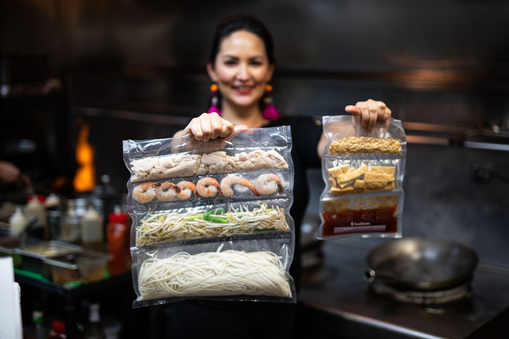 Chef Nikky Phinyawatana of Asian Mint restaurants is offering a  Chef Mint from Home  program. The current kit comes with the ingredients and recipes to make house fried rice, cashew chicken and miso soup.