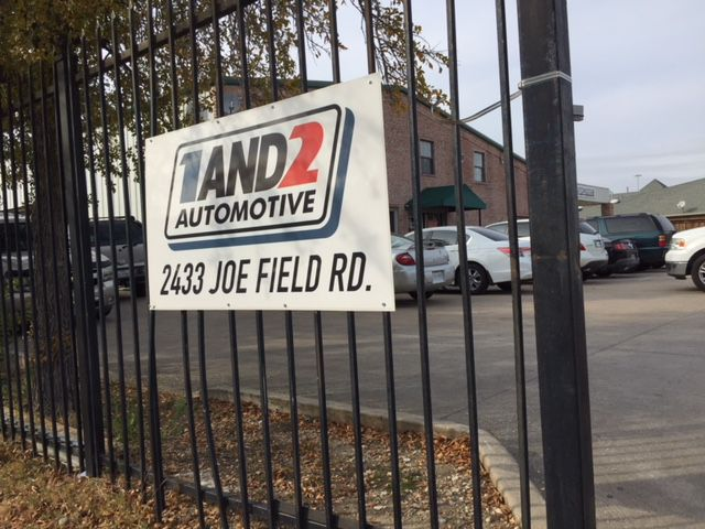 1and2 Automotive has an unusual business model. The northwest Dallas used car dealership is more interested in capturing cash down payments than selling cars.