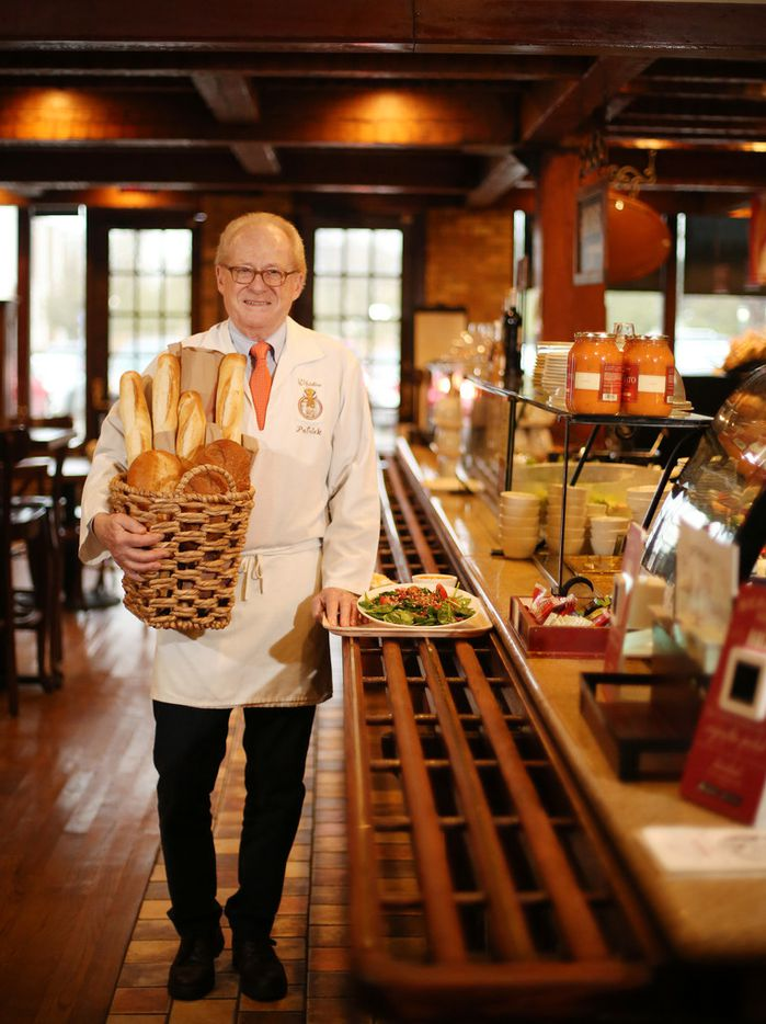 Patrick Esquerre founded the restaurant chain La Madeleine 35 years ago. On Friday Feb. 23, 2018, the restaurant chain will officially celebrate the 35th anniversary. Esquerre was photographed in the La Madeleine off Mockingbird Lane near Southern Methodist University in Dallas.