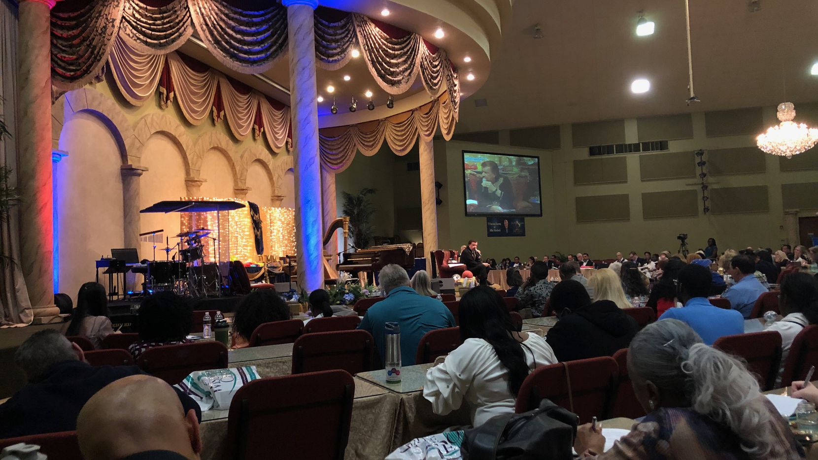 TV evangelist Mike Murdock hosted a four-day birthday celebration at his Haltom City church.