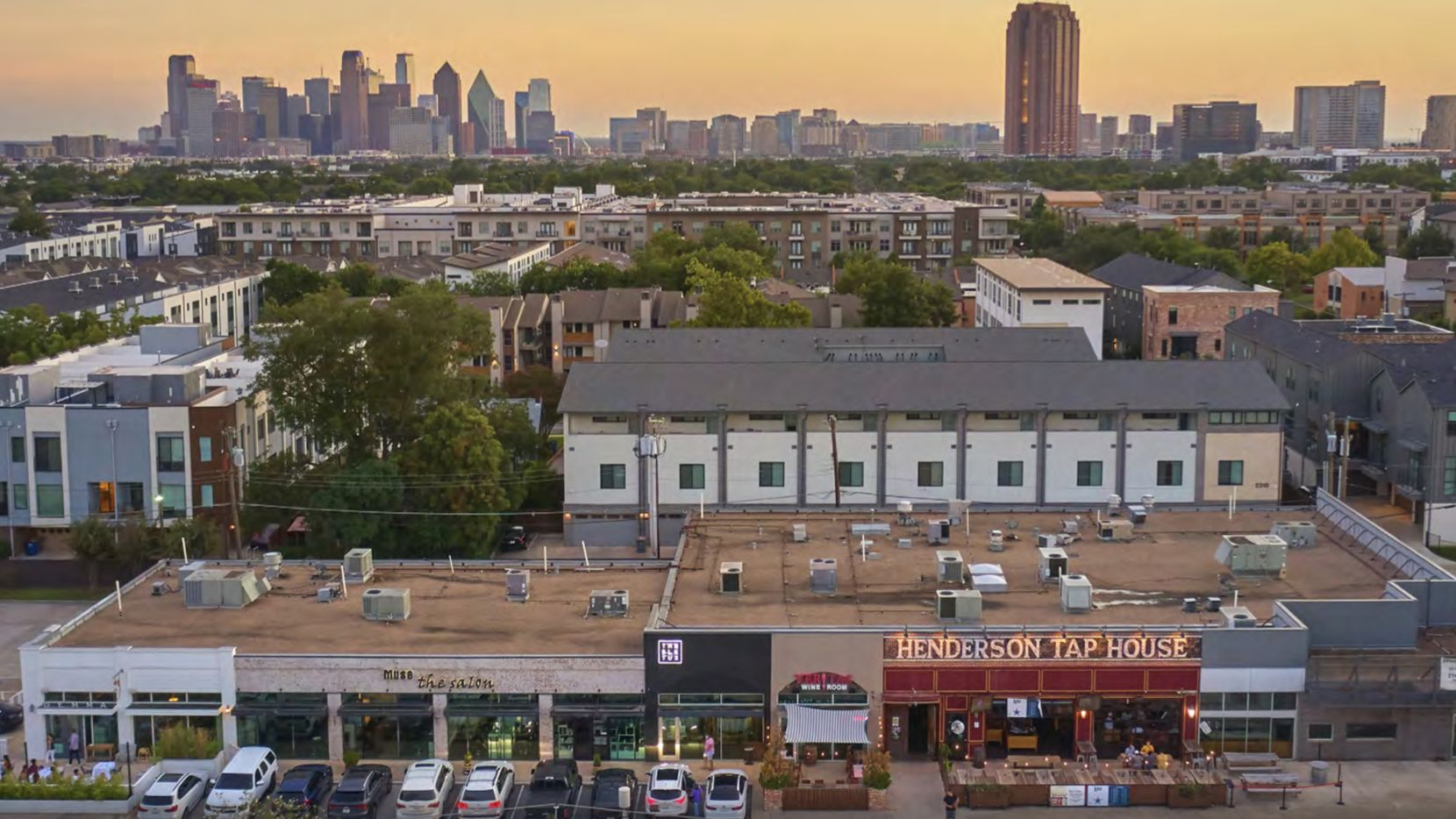 The Henderson Avenue properties house some of the most popular restaurants and watering holes in Dallas.