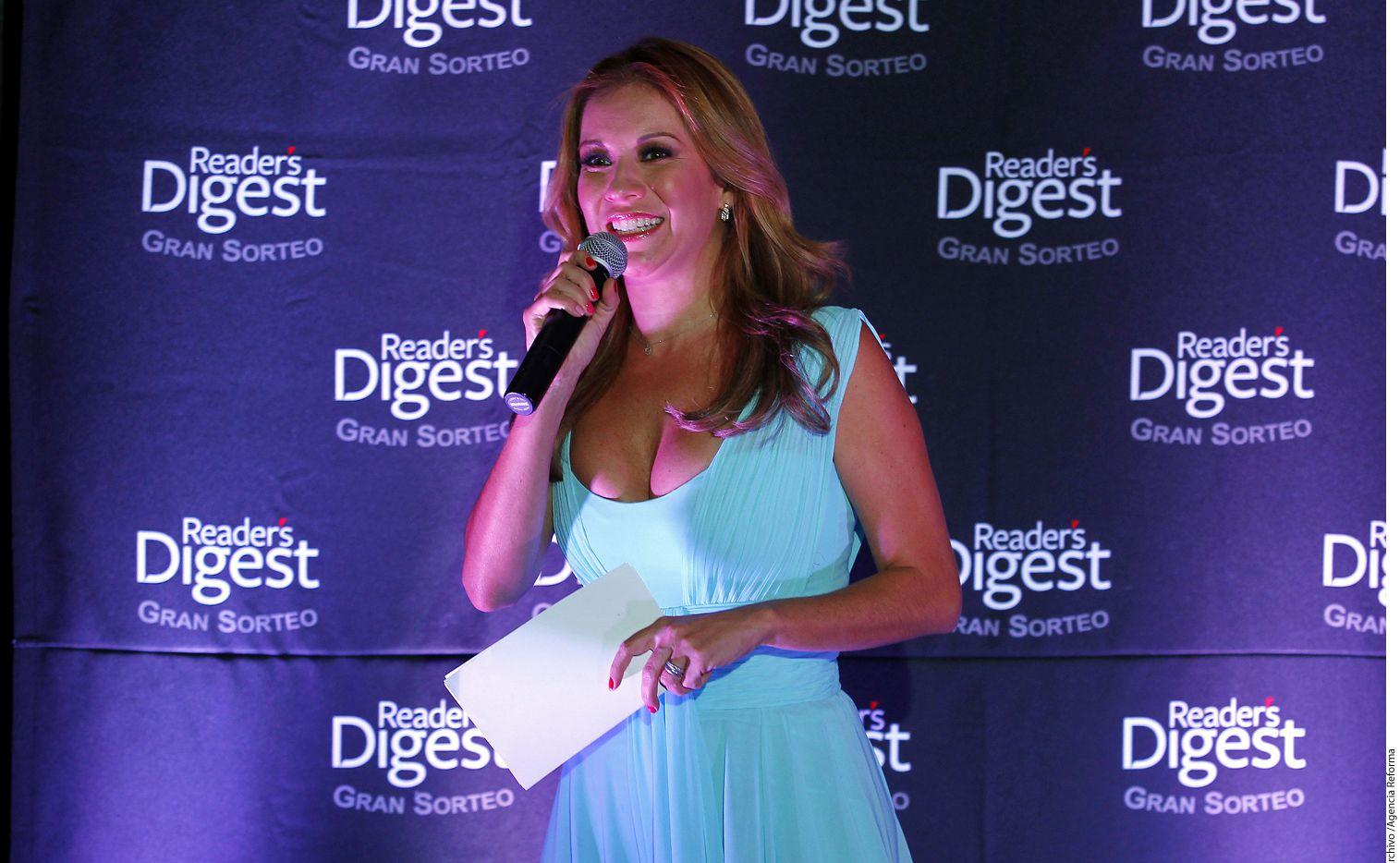 La conductora Ingrid Coronado ha tomado varias terapias para superar su divorcio./AGENCIA REFORMA