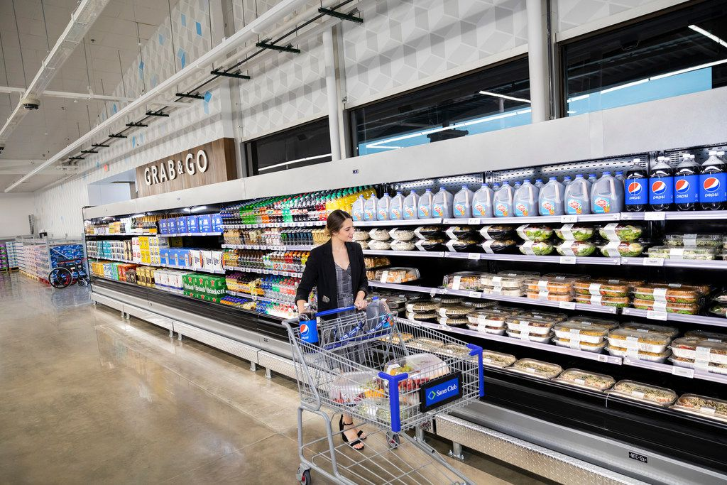 Sam's Club Now will have prepared foods in smaller sizes than in a regular Sam's Club.