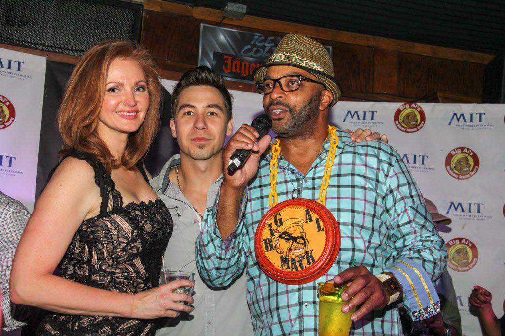Dish Nation and KISS FM personalites Kellie Rasberry, J-Si Chavez and Big Al Mack