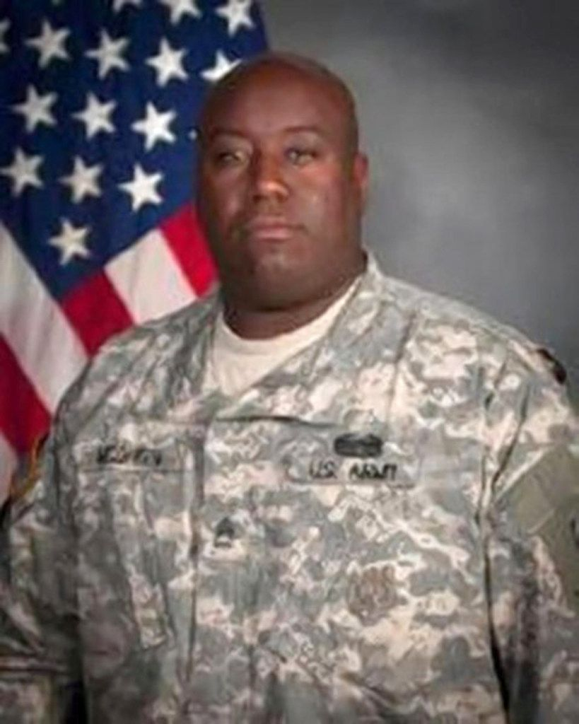 Former U.S. Army Sgt. 1st Class Gregory McQueen, who military prosecutors said ran a prostitution ring at Fort Hood for a month or two that took advantage of cash-strapped female soldiers.