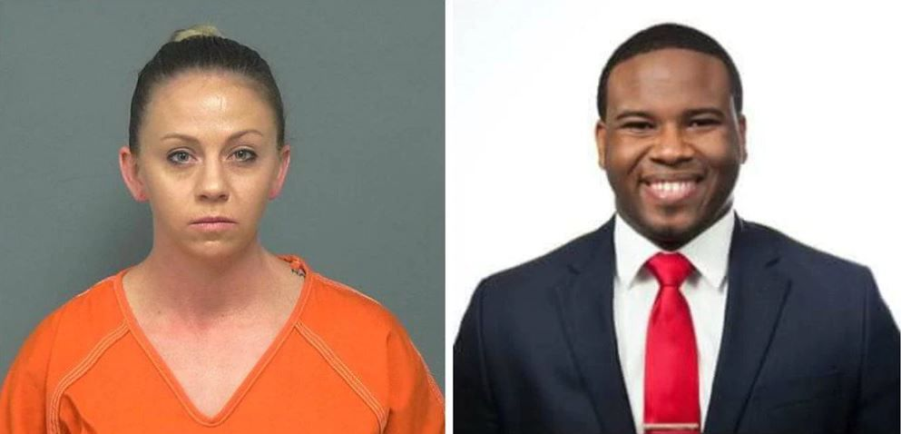 Amber Guyger was off-duty but still in uniform last September when she entered Botham Jean's apartment and shot him while he watched football on TV. She told police she thought she was in her apartment and mistook Jean for a burglar.