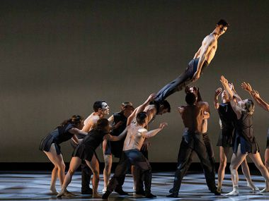 """Bruce Wood Dance performs """"In My Your Head,"""" which uses the music of Radiohead."""