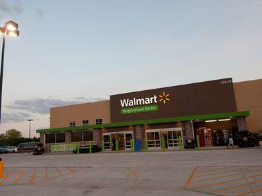 A Walmart Neighborhood Market in Jacksonville, Fla.