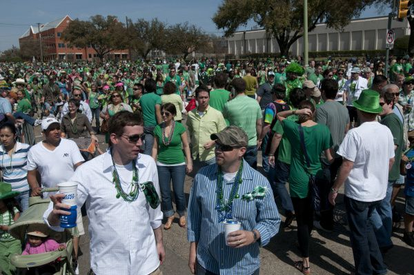 The Dallas parade is canceled this year, but there are a few ways to celebrate St. Patrick's Day in Frisco.