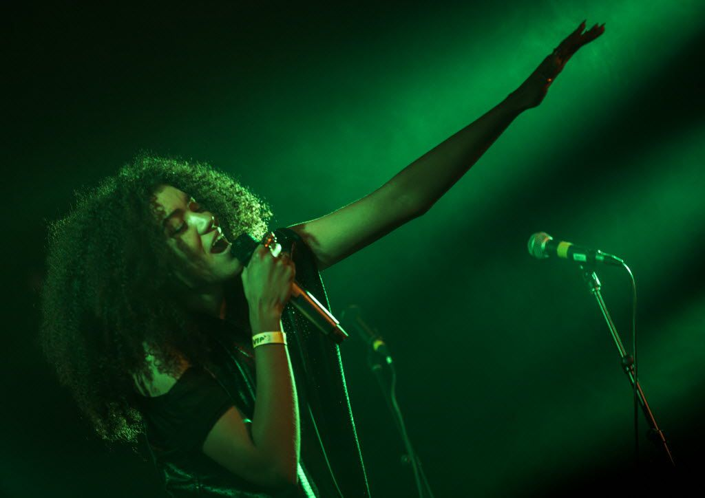 Sam Lao performing at Trees in 2015 (Ashley Landis/The Dallas Morning News)