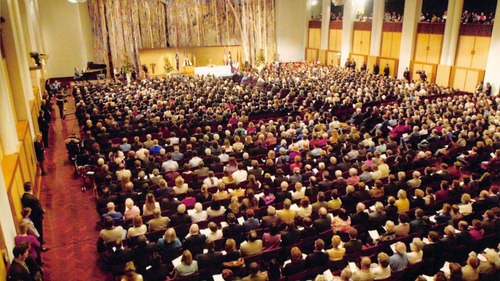 Former Ambassador Tom Schieffer spoke at a memorial service in Australia shortly after 9/11.