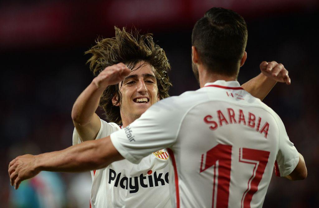 Bryan Gil y el Sevilla FC jugarán contra el FC Dallas en julio en el Toyota Stadium. (CRISTINA QUICLER / AFP/ Getty Images)
