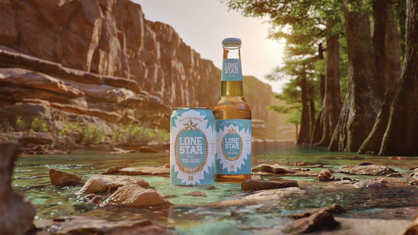 Rio Jade is a new Mexican-style lager from Lone Star Beer.
