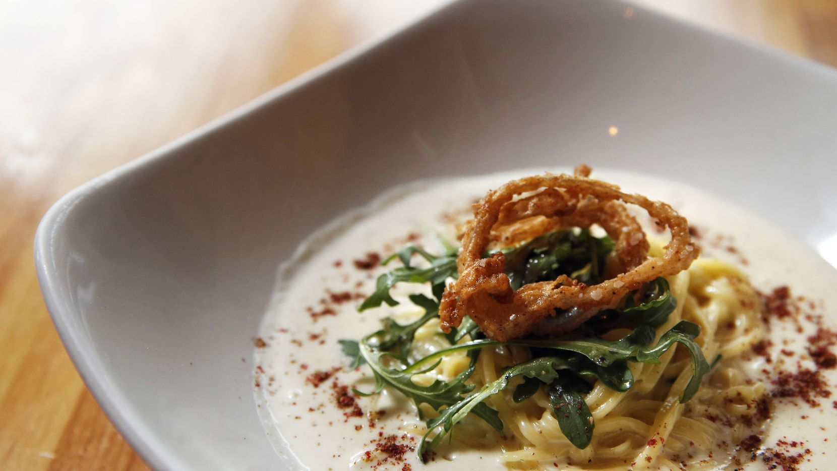 Cacio e pepe is one of the most popular dishes at Rye in McKinney. The owners will open a second location in Dallas in spring 2021.