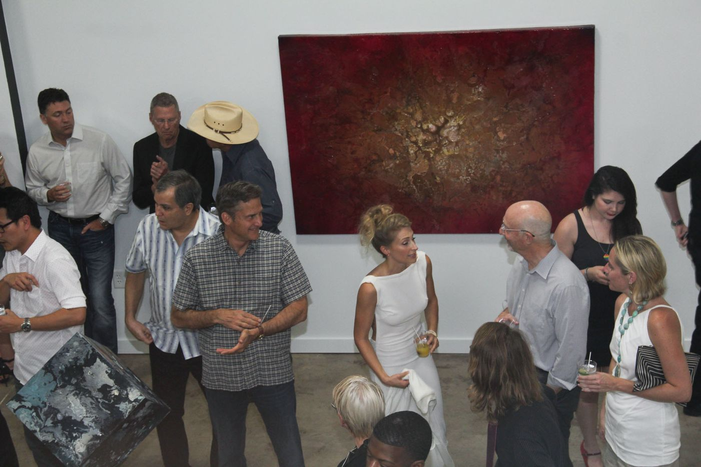 Euphoria is Toni Martin's first solo-exhibition. She has been working in Dallas for the past 10 years.
