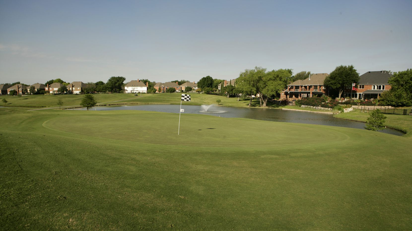 File photo of the Number 6 hole, par 3, on Course 1 at Sherrill Park Golf Course.